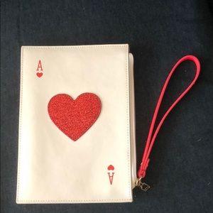 Kate Spade Taft Street Ace of Hearts wristlet